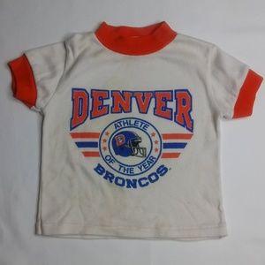 Vintage 24mo Jog Togs Denver Broncos Kids Tee